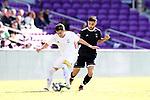Orlando, Florida - Monday January 15, 2018: Chris Lema and Alex Roldan. Match Day 2 of the 2018 adidas MLS Player Combine was held Orlando City Stadium.