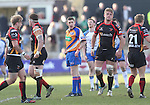 Referee George Clancy<br /> RaboPro 12<br /> Newport Gwent Dragons v Connacht<br /> Rodney Parade<br /> 23.03.14<br /> <br /> &copy;Steve Pope-SPORTINGWALES