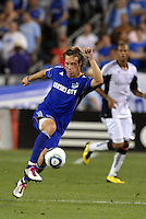 Michael Harrington..Kansas City Wizards defeated New England Revolution 4-1 at Community America Ballpark, Kansas City, Kansas.
