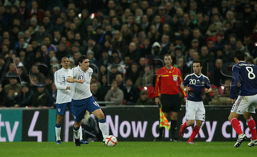 17.11.2010 Gareth Barry International Friendly from Wembley England v France.