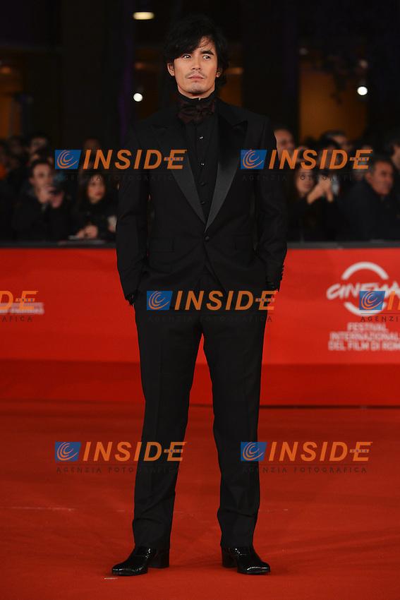 """Actor Hideaki Ito - movie """"Aku no kyoten / Lesson of Evil"""".Roma 9/11/2012 Auditorium.Festival del Cinema di Roma.Foto Guido Aubry Elipics"""