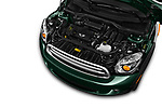 Car Stock 2016 MINI Countryman Countryman 5 Door Hatchback Engine  high angle detail view