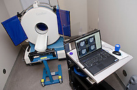 Small Animal CT scan room in referral center located in Flowood, MS.