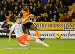 Bakary Sako of Wolves scores his second goal of the game Football - Sky Bet Championship - Wolverhampton Wanderers vs Fulham - Season 2014/15 - 24th February 2015 - Photo Malcolm Couzens/Sportimage