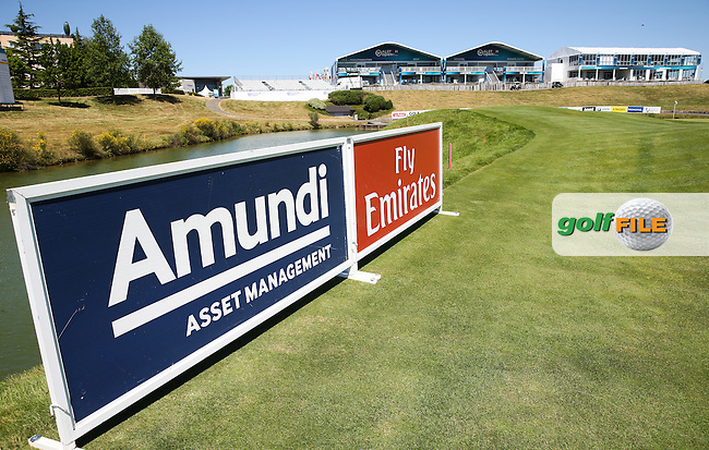 Amundi Asset Management and Fly Emirates sponsors this week, during the preview days of the 2015 Alstom Open de France, played at Le Golf National, Saint-Quentin-En-Yvelines, Paris, France. /30/06/2015/. Picture: Golffile | David Lloyd<br /> <br /> All photos usage must carry mandatory copyright credit (&copy; Golffile | David Lloyd)