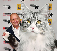 Bob Mortimer<br /> Cats Protection's National Cat Awards, held by the Cats Protection celebrating feline tales of courage, promote benefits of cat adoption. The Savoy Hotel, London, England on August 02, 2018.<br /> CAP/JOR<br /> &copy;JOR/Capital Pictures