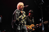 LONDON, ENGLAND - SEPTEMBER 8: Bob Geldof and Dave Stewart performing at Shepherd's Bush Empire on September 8, 2017 in London, England.<br /> CAP/MAR<br /> &copy;MAR/Capital Pictures