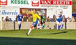 2015-11-01 / Voetbal / seizoen 2015-2016 / KSV Schriek - FC Mariekerke/ Sven Van Vlasselaer (KSV Schriek) zorgt voor de gelijkmaker 1-1<br /><br />Foto: Mpics.be