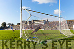 Kenmare's goalie kieran Fitzgibbon gets his hand on on Brian Crowley penalty  Templenoe but cant prevent it hitting the back of the net during the County Intermediate Championship final in Fitzgerald Stadium on Sunday