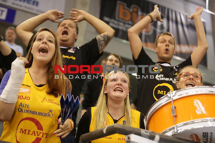 04.10.2015, Arena Trier, Trier, GER, 2. Basketball Bundesliga, 3. Spieltag, Gladiators Trier vs RASTA Vechta, im Bild <br /> <br /> <br /> Foto &copy; Sebastian J. Schwarz