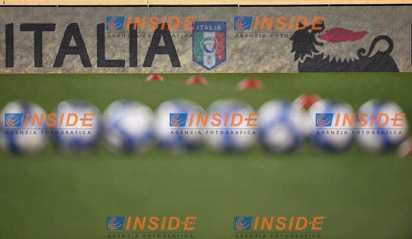 Palloni Puma Pubblicita' Eni  <br /> Roma 27-02-2017, Stadio Olimpico<br /> Football Friendly Match  <br /> Italy - Spain Under 21 Foto Andrea Staccioli Insidefoto