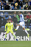 CD Leganes' Youssef En-Nesyri (R) and Deportivo Alaves' Fernando Pacheco  during La Liga match. November 23,2018. (ALTERPHOTOS/Alconada)