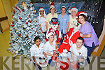 IT'S A VOCATION: Nursing staff in Kerry General Hospital who will be working on Christmas day hope to bring lots of festive fun to patients. From front l-r were: Shree Dharmalingam, Anne Keane, Norma Long and Mairead O'Connor. Back l-r were: Mayble Lukose, Marie Reidy, elaine Sheehan and Sinead Coffey.