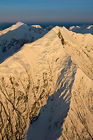 Mount Brooks, Alaska Range, Denali National Park, Interior, Alaska.
