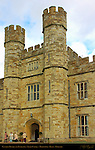 Central Towers and Entrance, Leeds Castle, Maidstone, Kent, England, UK