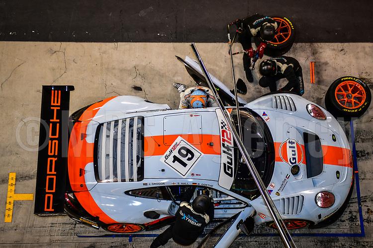 #19 GPX RACING (UAE) PORSCHE 911 GT3 R STUART HALL (GBR) BENJI GOETHE (DEN) JORDAN GROGOR (UAE) GT3 PRO