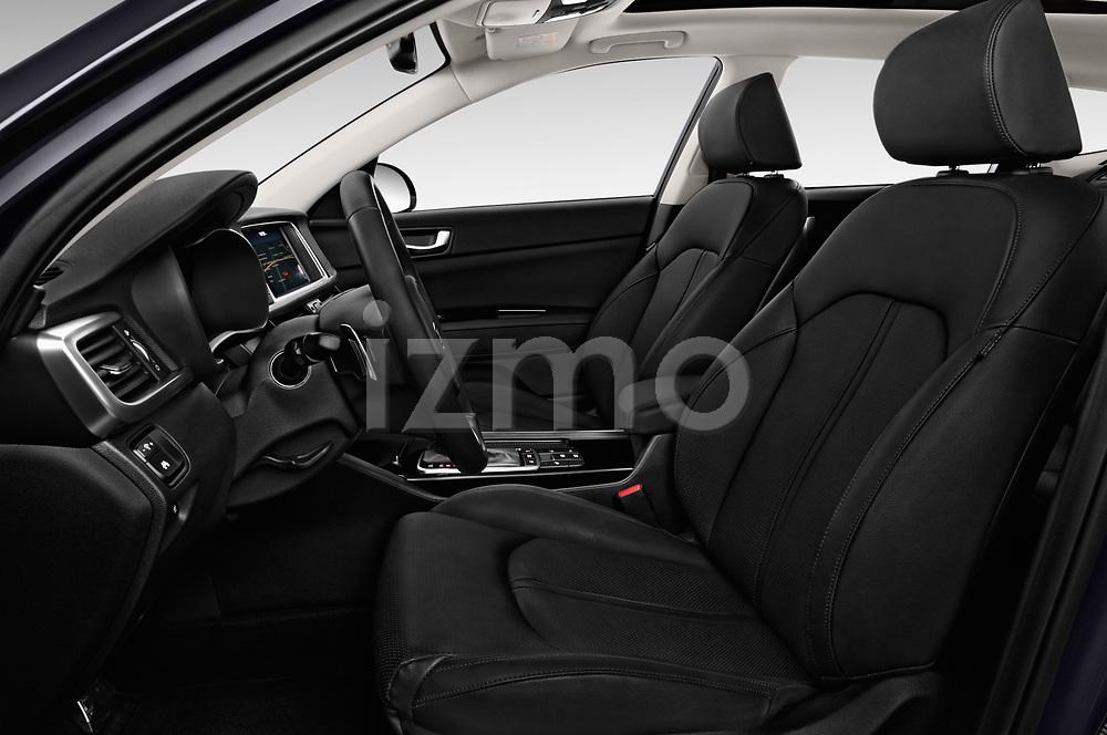Front seat view of a 2017 KIA Optima Sportswagon Sense 5 Door Wagon front seat car photos