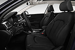 Front seat view of a 2017 KIA Optima Sportswagon Sense 5 Door Wagon front seat car photos