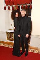Tina Kunakey, Vincent Cassel<br /> Presentation BraVo International Music Awards at the Bolshoi Theatre on March 11, 2018 in Moscow, Russia.<br /> CAP/PER<br /> &copy;PER/CapitalPictures