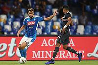 Fernando Llorente of Napoli and Jeison Murillo of Sampdoria compete for the ball<br /> Napoli 14-9-2019 Stadio San Paolo <br /> Football Serie A 2019/2020 <br /> SSC Napoli - UC Sampdoria<br /> Photo Cesare Purini / Insidefoto