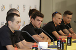 BMC Racing Team press conference before the 104th edition of the Tour de France 2017, Dusseldorf, Germany. 29th June 2017.<br /> Picture: Eoin Clarke | Cyclefile<br /> <br /> All photos usage must carry mandatory copyright credit (&copy; Cyclefile | Eoin Clarke)