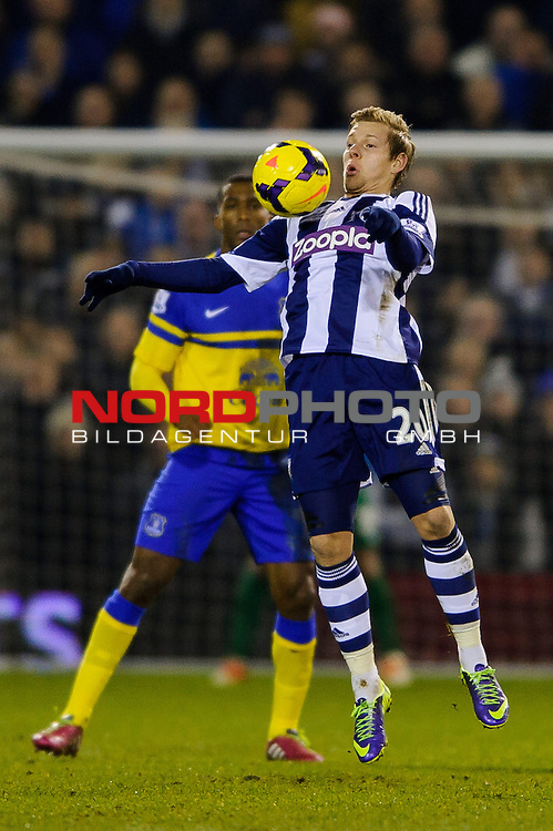 West Brom Forward Matej Vydra in action -  - 20/01/2014 - SPORT - FOOTBALL - The Hawthorns Stadium - West Bromwich Albion v Everton - Barclays Premier League.<br /> Foto nph / Meredith<br /> <br /> ***** OUT OF UK *****