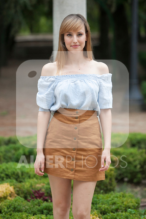 Spanish actress Natalia de Molina poses during `Kiki´ film production in Madrid, Spain. August 31, 2015. (ALTERPHOTOS/Victor Blanco)