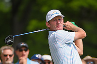 Brandt Snedeker (USA) watches his tee shot on 3 during round 2 of the 2019 Charles Schwab Challenge, Colonial Country Club, Ft. Worth, Texas,  USA. 5/24/2019.<br /> Picture: Golffile   Ken Murray<br /> <br /> All photo usage must carry mandatory copyright credit (© Golffile   Ken Murray)