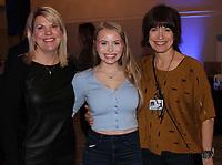 NWA Democrat-Gazette/CARIN SCHOPPMEYER Sue Redfield (from left), Jenna Shaffer and Kate Shaffer enjoy a la carte.