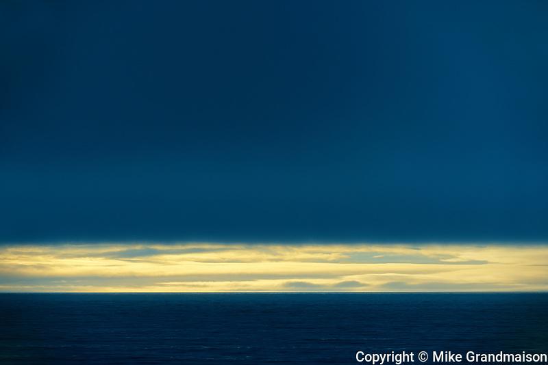 Storm on Pacific Ocean on Haida Gwaii, Naikoon Provincial Park, British Columbia, Canada