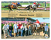 Majestic Hussar winning at Delaware Park on 8/26/15