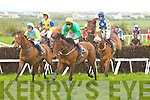 UP AND OVER: The first race at Ballybunion on Sunday...