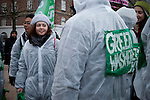Agriculture Action: Resist Industrial Farming! Copenhagen, Dec. 15, 2009. (Images free for Editorial Web usage for Fresh Air Participants during COP 15. Credit: Robert vanWaarden)
