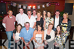 21ST: Katie Brosnan, Whitebridge, Killarney (seated centre),, celebrates her 21st in the Killarney Heights Hotel last Saturday night with her friends and family..