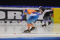 SCHAATSEN: HEERENVEEN: 16-01-2016 IJsstadion Thialf, Trainingswedstrijd Topsport, Jorien Voorhuis, ©foto Martin de Jong