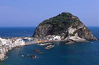 Italien, Ischia, Blick auf Sant'Angelo