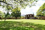 Lahaina Prison, (Hale Pa'ahao), a restored prison and botanical garden in Lahaina, Maui, Hawaii, USA