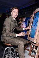 NEW YORK CITY - APRIL 20: Lucas Arthur Englander attends the National Geographic GENIUS: PICASSO Tribeca Film Festival after party at The Genius Studio, 100 Avenue of the Americas, in New York City on April 20, 2018 in New York City.  The Genius: Studio is an interactive installation designed to inspire people to create their own masterpieces. (Photo by Anthony Behar/National Geographic/PictureGroup)
