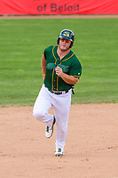 Beloit Snappers designated hitter Kyle Nowlin (17) during a Midwest League game against the Quad Cities River Bandits on June 18, 2017 at Pohlman Field in Beloit, Wisconsin.  Quad Cities defeated Beloit 5-3. (Brad Krause/Krause Sports Photography)