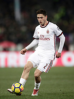 Football Soccer: Tim Cup semi-final second Leg, SS Lazio vs AC Milan, Stadio Olimpico, Rome, Italy, February 28, 2018.<br /> Milan's Davide Calabria in action during the Tim Cup semi-final football match between SS Lazio vs AC Milan, at Rome's Olympic stadium, February 28, 2018.<br /> <br /> UPDATE IMAGES PRESS/Isabella Bonotto