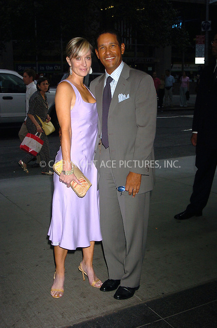 WWW.ACEPIXS.COM . . . . .  ....July 26, 2006, New York City. ....Bryant Gumbel and Hilary Quinlan attend the special screening of 'Scoop' in honor of Scarlett Johansson at the Museum of Modern Art. ......Please byline: AJ Sokalner - ACEPIXS.COM..... *** ***..Ace Pictures, Inc:  ..(212) 243-8787 or (646) 769 0430..e-mail: info@acepixs.com..web: http://www.acepixs.com