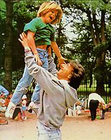Kramer vs. Kramer (1979) <br /> Justin Henry &amp; Dustin Hoffman<br /> *Filmstill - Editorial Use Only*<br /> CAP/MFS<br /> Image supplied by Capital Pictures