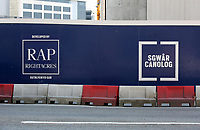 Pictured: Central Square development (Sgwar Canolog) by RAP Rightacres, Cardiff Thursday 25 May 2017<br />Re: Preparations for the UEFA Champions League final, between Real Madrid and Juventus in Cardiff, Wales, UK.