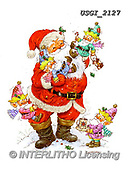 GIORDANO, CHRISTMAS SANTA, SNOWMAN, WEIHNACHTSMÄNNER, SCHNEEMÄNNER, PAPÁ NOEL, MUÑECOS DE NIEVE, paintings+++++,USGI2127,#X#