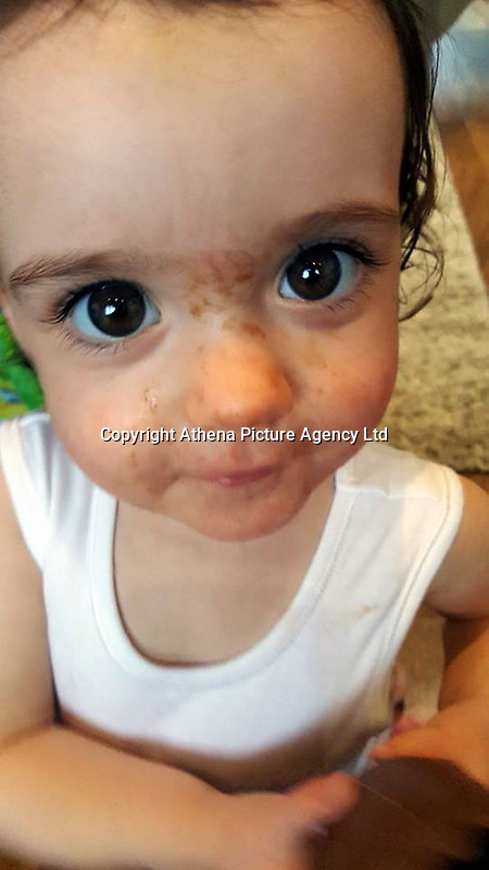 """COPY BY TOM BEDFORD<br /> Pictured: Pearl Black<br /> Re: The funeral of a toddler who died after a parked Range Rover's brakes failed and it hit a garden wall which fell on top of her will be held today at Merthyr Tydfil.<br /> One year old Pearl Melody Black and her eight-month-old brother were taken to hospital after the incident in south Wales.<br /> Pearl's family, father Paul who is The Voice contestant and mum Gemma have said she was """"as bright as the stars""""."""