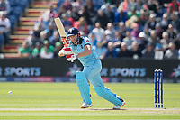 Jonny Bairstow (England) pushes into the on side for a single during England vs Bangladesh, ICC World Cup Cricket at Sophia Gardens Cardiff on 8th June 2019