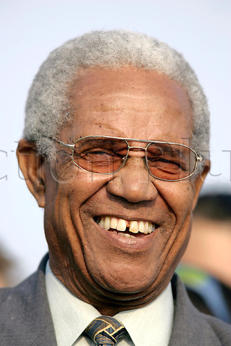 7 June 2005: Portrait of West Indian great Sir Garfield Sobers during the Twenty20 Challenge match between the Lashings World XI and Sussex CCC at East Grinstead Sports Club, Sussex. Photo: Glyn Kirk/Actionplus..050607
