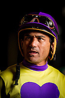 July 20, 2014: Jockey, Corey Nakatani at Del Mar Race Track in Del Mar CA. Alex Evers/ESW/CSM