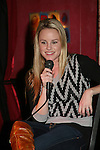"""General Hospital's Julie Berman """"Lulu"""" appears with Bradford Anderson  at the Brokerage Comedy Club on February 21, 2009 in Bellmore, New York to see their fans as they sign and pose for photos, do a show for the fans and Bradford plays Simon Says with his fans. ALSO Bradford sang for all and he was great. (Photo by Sue Coflin/Max Photos)"""