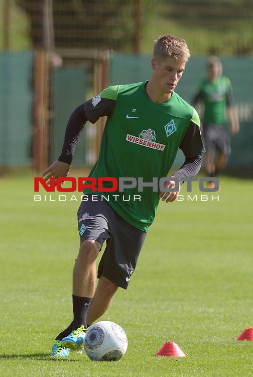 14.08.2013, Trainingsgelaende, Bremen, GER, 1.FBL, Training Werder Bremen, im Bild Johannes Wurtz (Bremen #27)<br /> <br /> Foto &copy; nph / Frisch